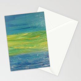 Sky, Land, Water Stationery Cards