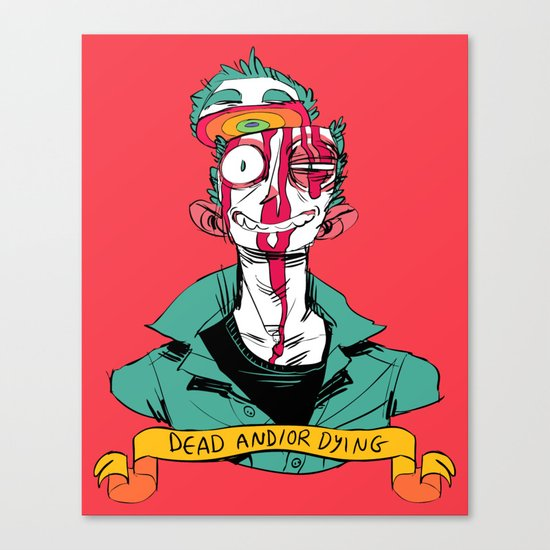 dead and/or dying Canvas Print