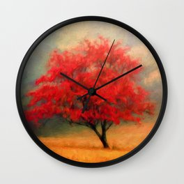 Autumns Colors Wall Clock