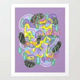 Alien Organism 5 Art Print