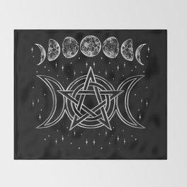 Pentacle Throw Blanket