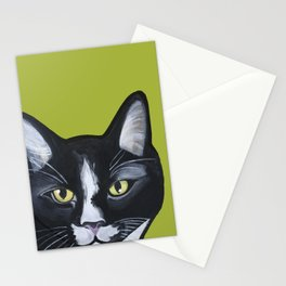 Laser the Cat Stationery Cards