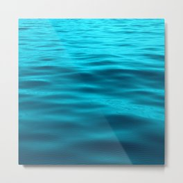 Water : Teal Tranquility Metal Print