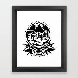 Homeward Framed Art Print