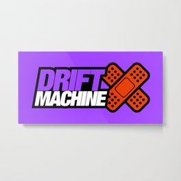Drift Machine v7 HQvector Metal Print
