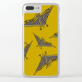 Pterossauro Clear iPhone Case