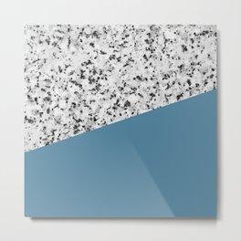 Granite and Niagara Color Metal Print