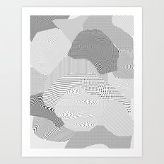 Chrome Art Print