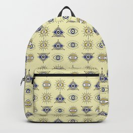 EVIL EYE ILLUSTRATION Backpack