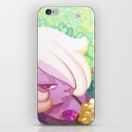 Chilling with Amethyst iPhone Skin
