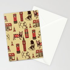 London Frenchies Stationery Cards