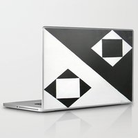 ying yang Laptop & iPad Skins featuring Ying & Yang by Guilherme Poletti