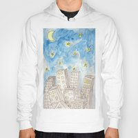 starry night Hoodies featuring Starry night by Susan