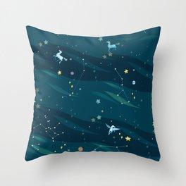 Fantasy universe Throw Pillow