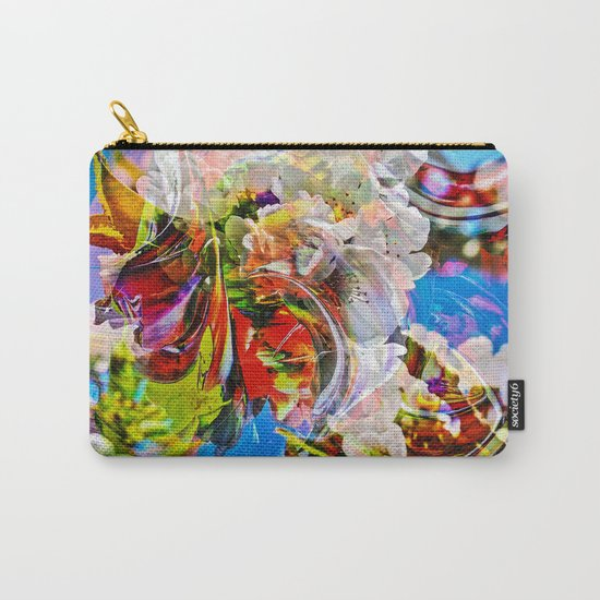 Abstract Perfekion - Spring Carry-All Pouch