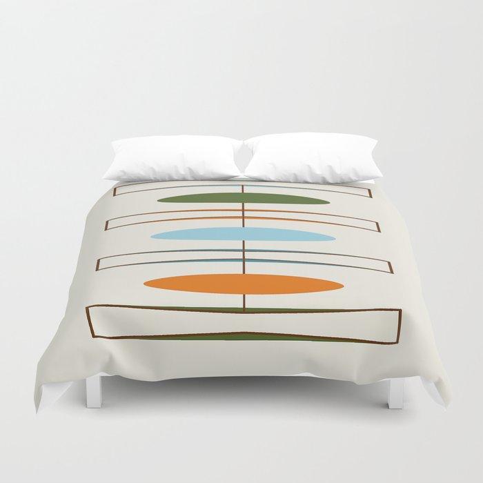 Mid-Century Modern Art 1.2 Bettbezug