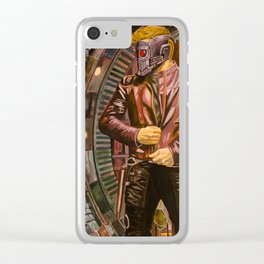Guardians of the Galaxy: StarLord Clear iPhone Case