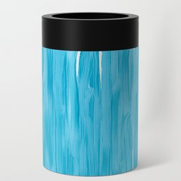 Sea of Blue Painted Can Cooler
