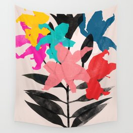 lily 9 Wall Tapestry