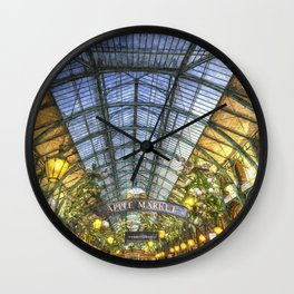 The Apple Market Covent Garden London Oil Wall Clock