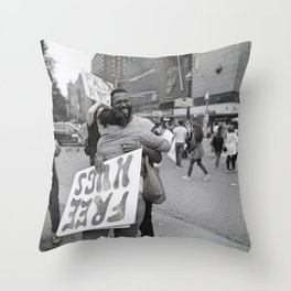 Embrace Friendship Throw Pillow