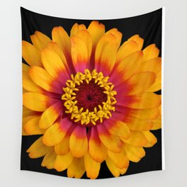Orange Flower Wall Tapestry