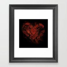 Mars & Aries Framed Art Print