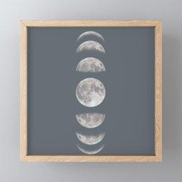Phases Framed Mini Art Print