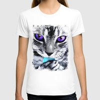 thundercats T-shirts featuring Purple eyes Cat by Augustinet