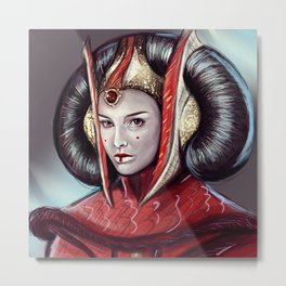 Queen Amidala Metal Print