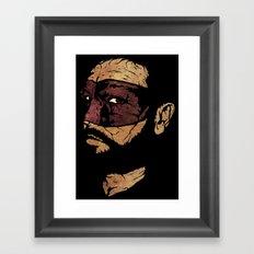 Uncle Hazard Framed Art Print