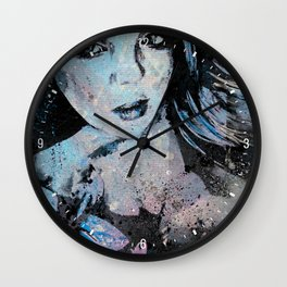 Ruined Our Everything: Blue Wall Clock
