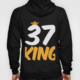 37. Birthday Present 37 Years Old Funny Gift Hoody