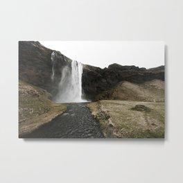 Seljalandsfoss Metal Print