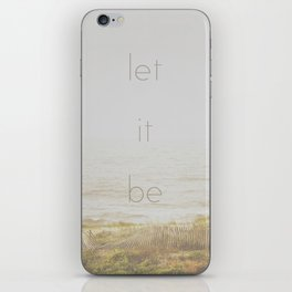 Let It Be iPhone Skin