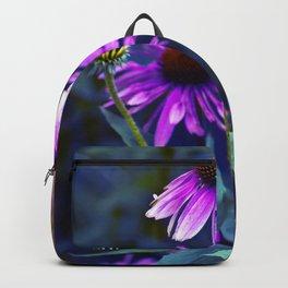 Purple Coneflowers Backpack