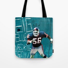 NY Giants' Lawrence Taylor Tote Bag