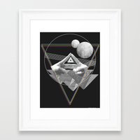 triforce Framed Art Prints featuring Triforce by Bambi