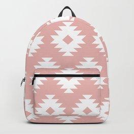 Southwestern Pattern 426 Dusty Rose Backpack