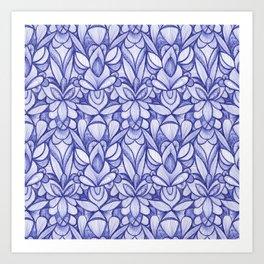 Ballpoint Pattern Art Print