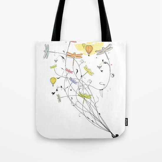 Kite Dream Tote Bag