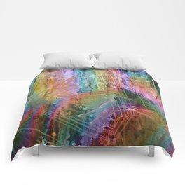 sea rainbow Comforters