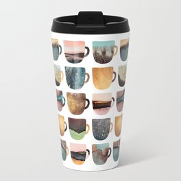 Earthy Coffee Cups Travel Mug