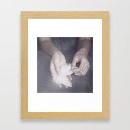 for my angel Framed Art Print
