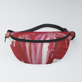 Lady in red Fanny Pack