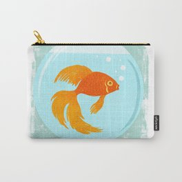 Goldfish Fishbowl Carry-All Pouch