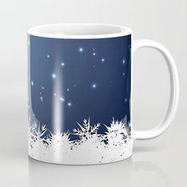 Adorable snowy night Coffee Mug