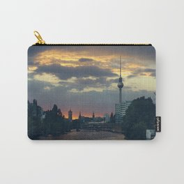 Berlin Red Carry-All Pouch