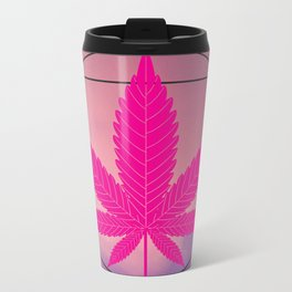 vitruvian marijuana Metal Travel Mug
