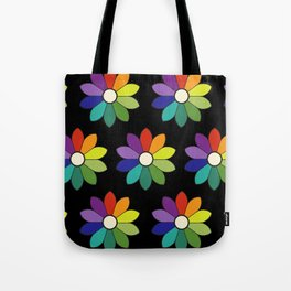 Flower pattern based on James Ward's Chromatic Circle (enhanced) Tote Bag